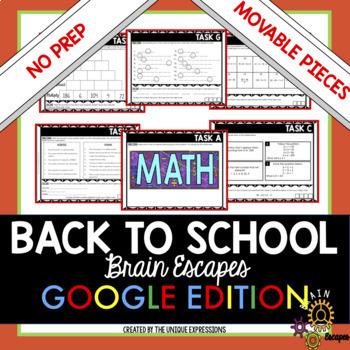 Back to School Escape Room Digital Activity