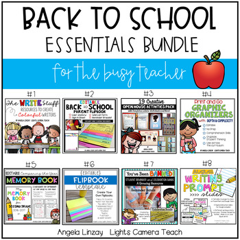 Back to School Essentials Bundle for the Busy Teacher