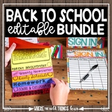 Back to School Essentials {Mega Pack}