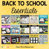 Back to School Essentials : instructions, rules and games !