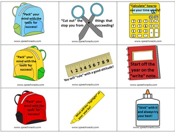 """""""Back to the Books"""" Game {Strategies for a Successful School Year}"""