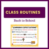 Back to School Expectations - Learning in the Classroom