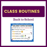 Back to School Expectations - The Hallway