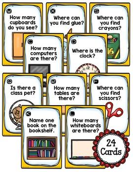 Back-to-School Explore the Room