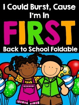 Back to School FIRST GRADE Flippable Book