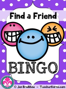 Back to School ~ FREE ~ Getting to Know You ~ Ice Breaker ~ First Day BINGO