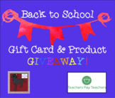 Back to School FREE Giveaway: Enter to WIN a $10 TPT Gift Card!