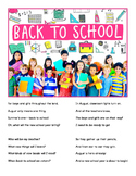 Back to School (FREE POEM)