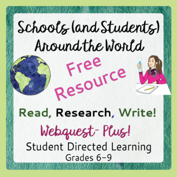 Back to School FREE: Read, Write, Research -  Schools, Students Around the World
