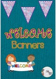 Back to School: FREE Welcome Banners