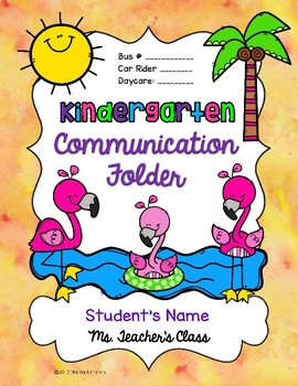 Back to School FREEBIE #1 {Flamingo Binder/Floder Covers and Desk Plates}