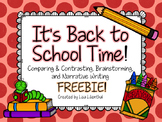 Back to School FREEBIE!