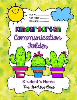 Back to School FREEBIE #3 {Cactus Binder/Flolder Covers and Desk Plates}