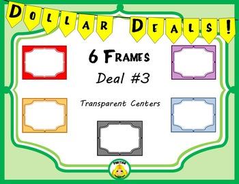 Dollar Deals #3 Frame Borders