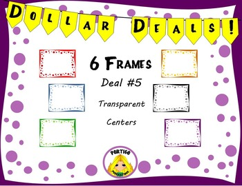 Dollar Deals #5 Dot Frame Borders