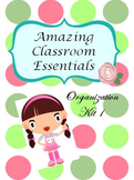 Back to School -  Polka Dot Classroom Theme Pack