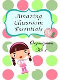 Back to School -  Polka Dot Classroom Theme Pack