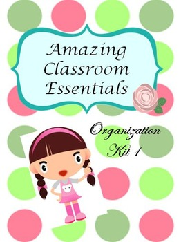 Back to School -  Polka Dot Classroom Theme Pack UPDATED