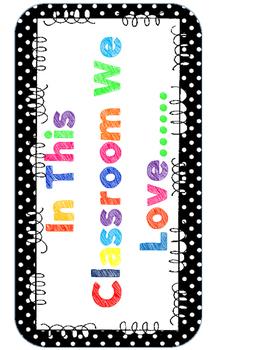 Back to School FREEBIE inspirational sign decor