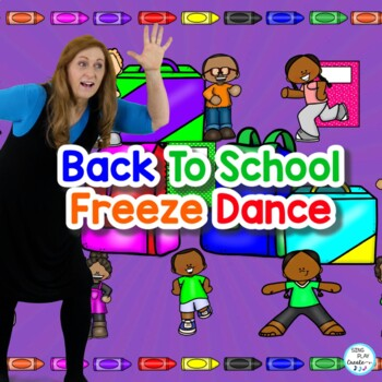 Let's FREEZE DANCE in the classroom. This resource is packed with materials you can use to teach the Freeze Dance activity, Music Dynamics, and Action Verbs. Not only will your students have an amazing time doing the FREEZE DANCE actions, but they'll also love the coloring sheets, games and activities the help them connect movement with concepts. Materials include, video, power point, flash cards, worksheets, games, activities, lesson plans and teaching steps.