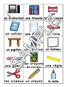 Back to School / La rentrée FRENCH Games, Workbook & SmartNotebook Pack