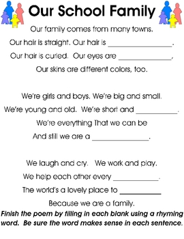 Back to School FRIENDSHIP & HEARTPRINTS literacy activities