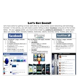 Back to School Facebook, iPhone, Twitter Poster - Student Worksheet
