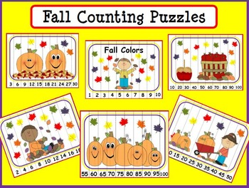 Fall Colors: Practice with Counting, Colors and Addition