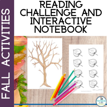 Back to School: Fall Reading Chart - Interactive Notebook