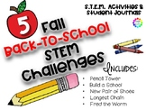 Back to School Fall STEM Activities Bundle