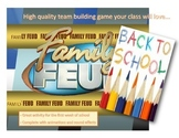 Back to School Family Feud Game