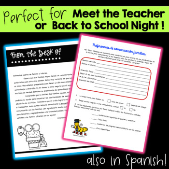 Back to School: Family Involvement Packet