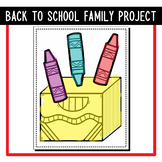 Back to School Family Project