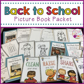 Back to School Picture Book Activities