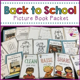 Back to School Picture Book Activities