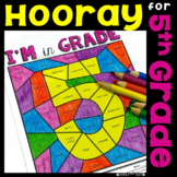 Back to School 5th Grade (First Week or Day 5) activities, LA, Math, Writing