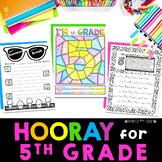 Back to School 5th Grade | First Week of School Fifth Grad