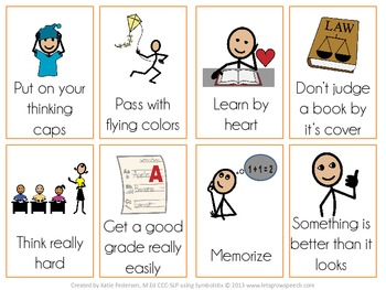 Back to School Figurative Language Activity Pack