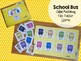 Back to School File Folder Game: School Bus Color Matching