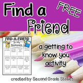 Back to School ~ Find a Friend Game FREEBIE