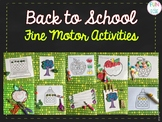 Back to School Fine Motor Activities