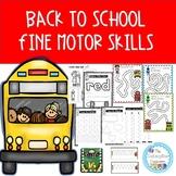 Back to School Fine Motor Skills