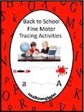 Fine Motor Skills Back To School Activities Tracing Activi