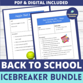 Back to School All About Me Bundle