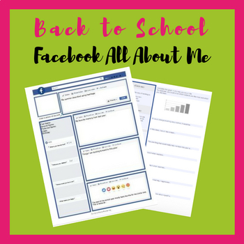 Back to School First Day -  Facebook Style All About Me & GIF Bell Ringer - FREE
