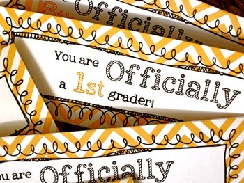 Back to School First Day Goodie Bag Tag K - 6 Grades FREEBIE
