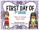 First Day of School Book Craft