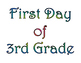 Back to School First Day of Grade & Last Day of Grade Printable Posters Set 1