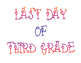Back to School First Day of Grade & Last Day of Grade Printable Posters Set 3