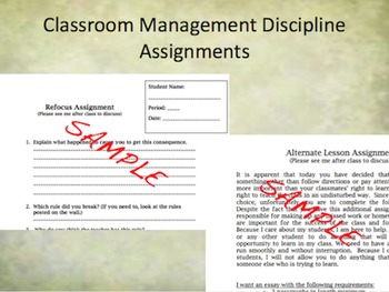 Back to School: First Day of School & Classroom Management Plan